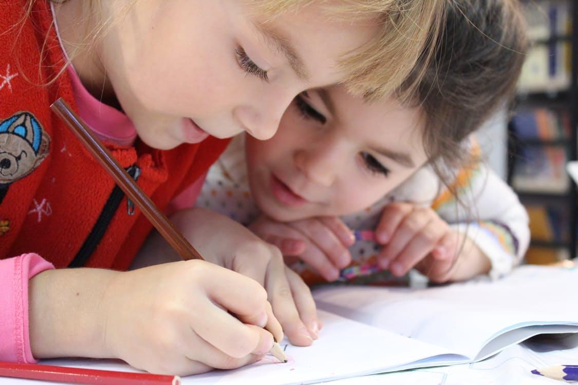 Children at Indoor Recess